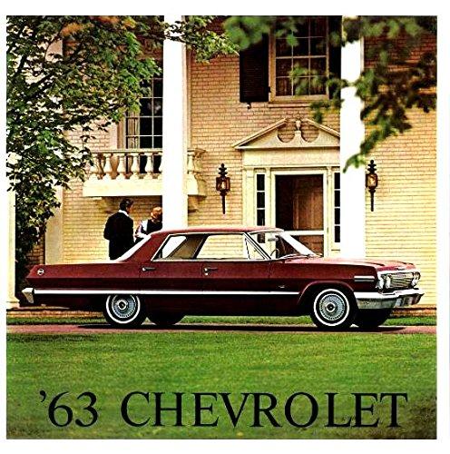 Download FULL COLOR 1963 CHEVROLET DEALERSHIP SALES BROCHURE For Impala, Bel Air, Biscayne, Station Wagon ebook