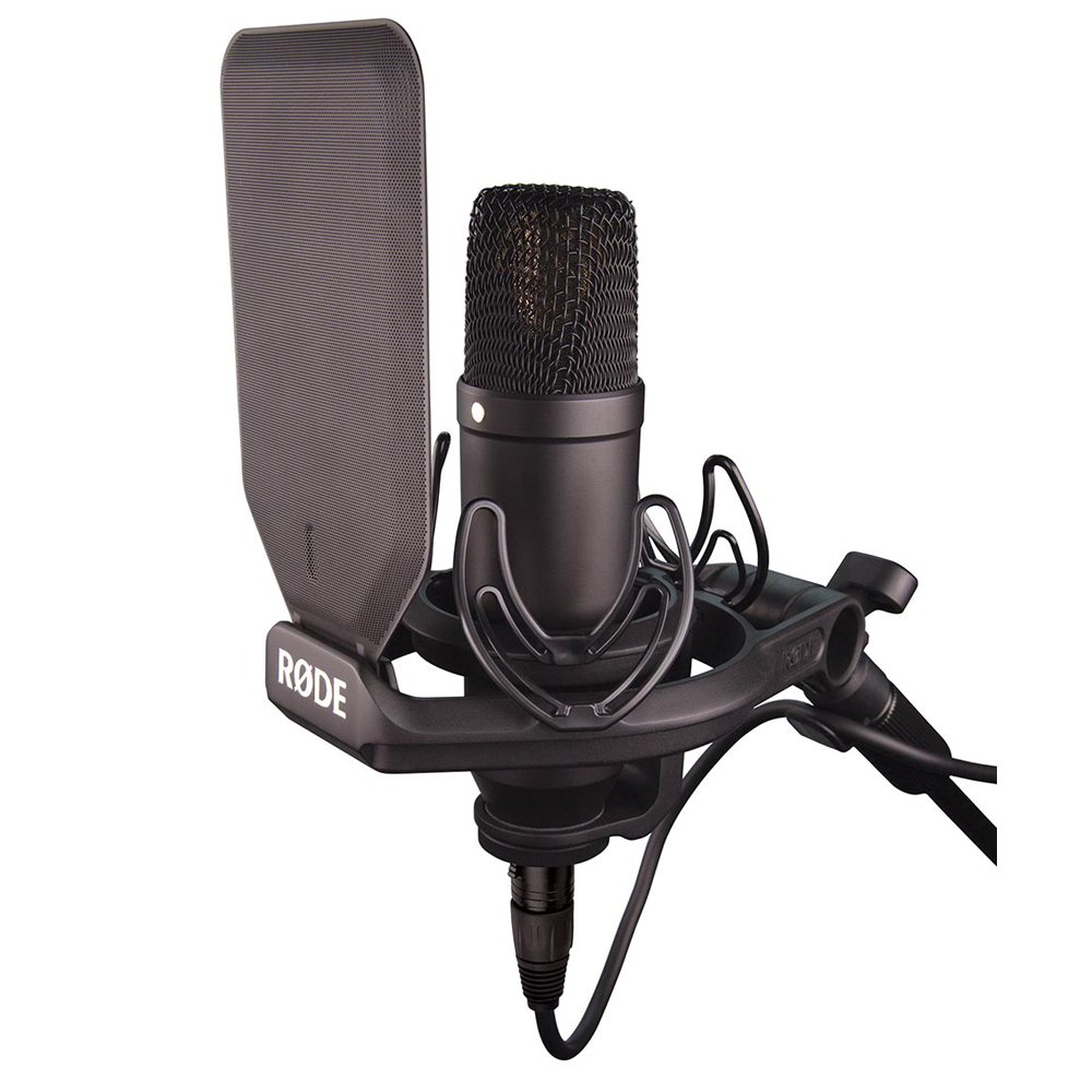 Rode NT1 Condenser Microphone & One-Channel USB Audio Interface Pack