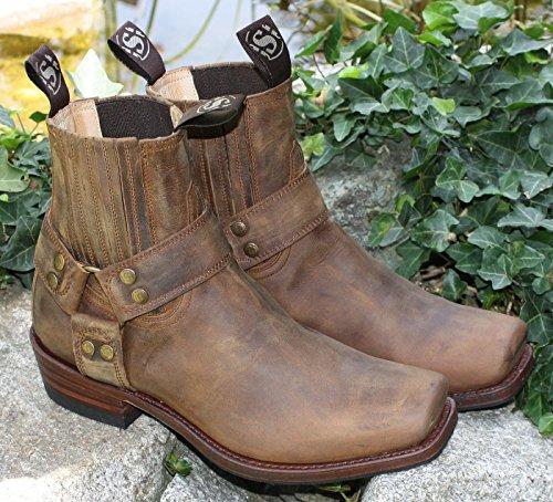 Sendra Boots Sendra Stiefelette Mad Dog Tang Lavado Blues Braun