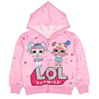 Socluer Felpa con cappuccio con zip Magliette per Ragazze L.O.L Surprise Dolls Cartoon Game Girl's