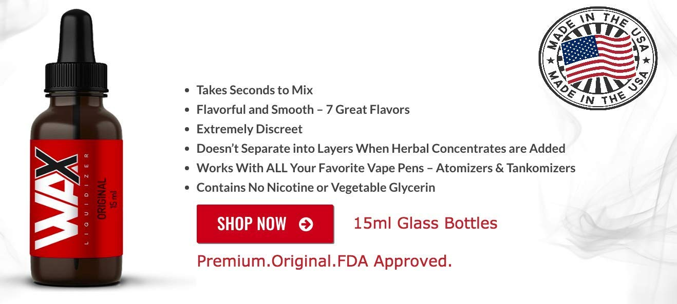Wax Liquidizer Original Flavour E JUICE 15 ML