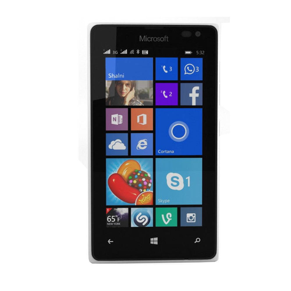 Microsoft Lumia 435 Windows 8 GSM Smartphone, No Contract, T-Mobile, White by Microsoft (Image #5)
