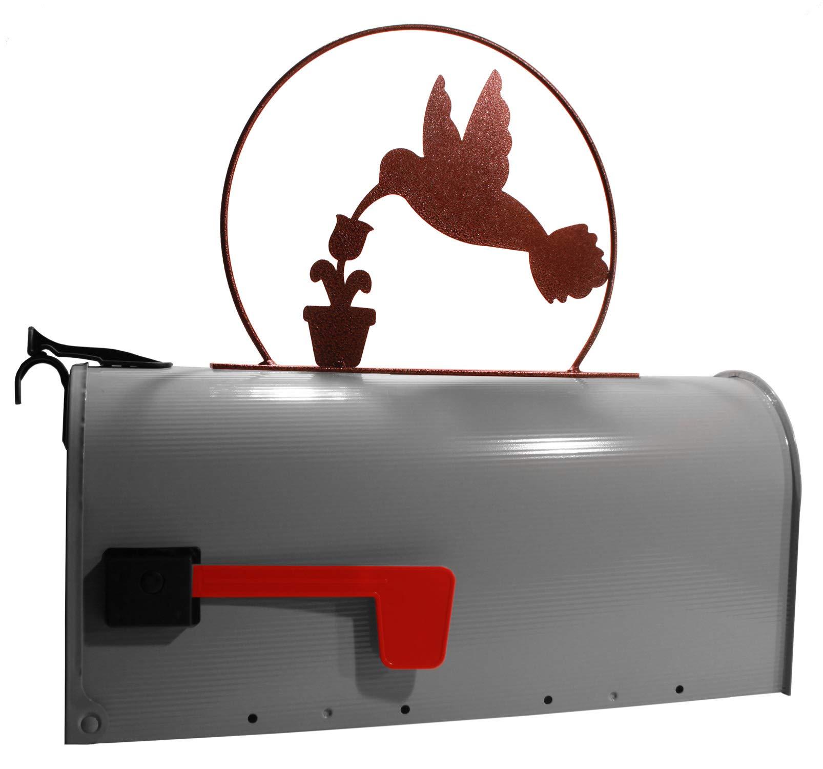 MONTGOMERY INDUSTRIES Hummingbird Mail Box Topper