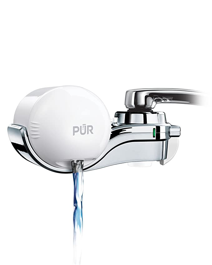Best Faucet Water Filters: PUR FM-9600 Mineralclear Horizontal Faucet Mount