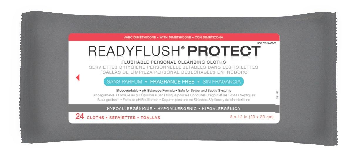 Amazon.com: Medline Readyflush Biodegradable Flushable Wipes, 576 Count: Industrial & Scientific