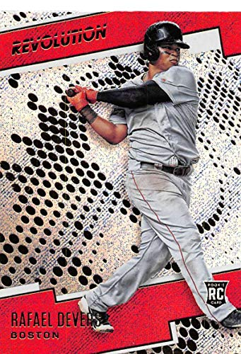 2018 Panini Chronicles Revolution Rapture (Blaster Exclusive) #4 Rafael Devers Boston Red Sox RC Rookie Card (Boston Red Sox Revolution)