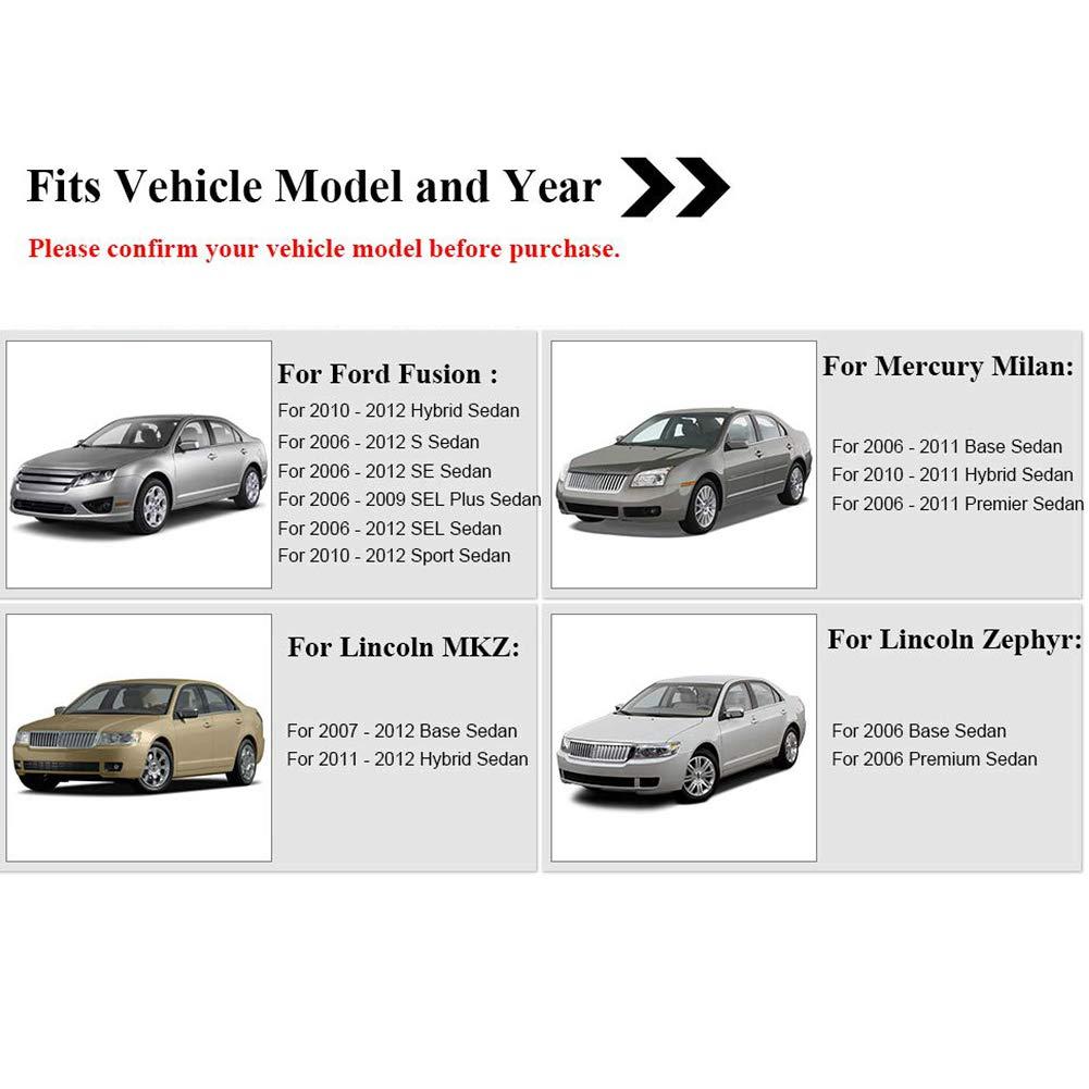 For 2007 2008 2009 2010 2011 2012 Lincoln MKZ Car Key Door Inside Left Handle