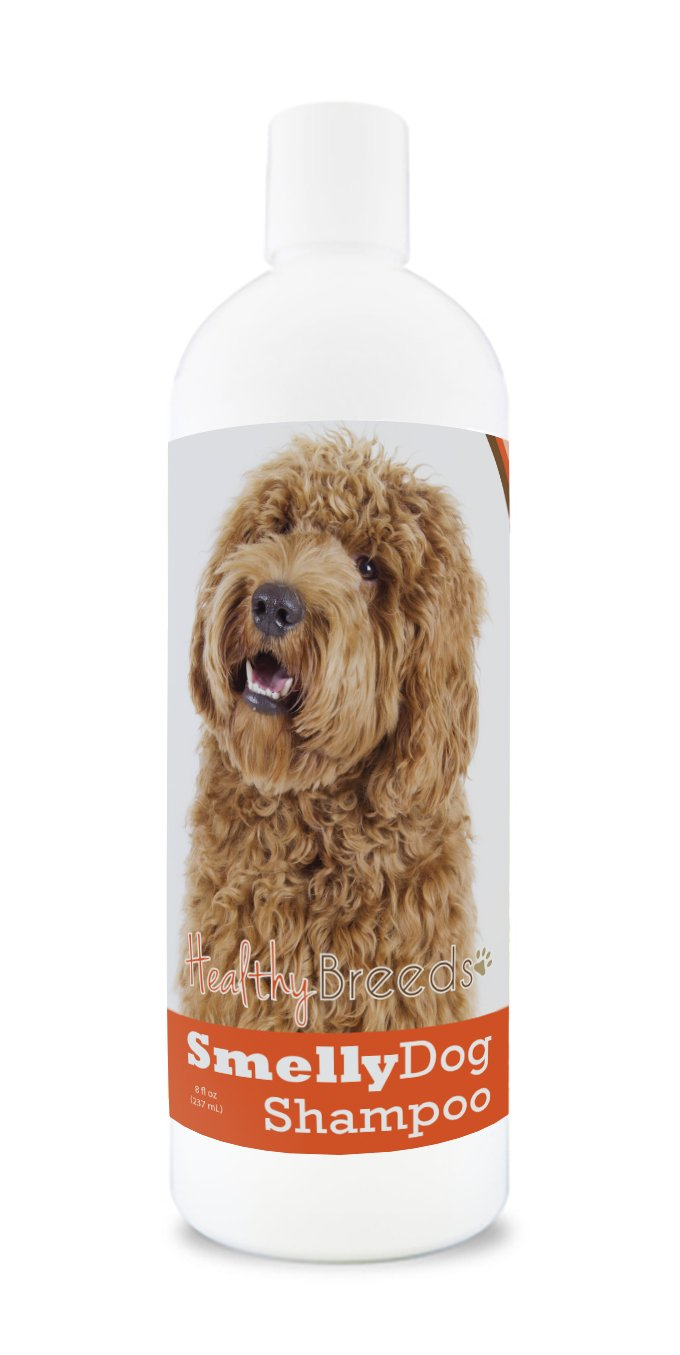 Healthy Breeds Smelly Dog Deodorizing Shampoo & Conditioner Baking Soda - Over 200 Breeds - Hypoallergenic Oats & Aloe - 8 oz 1030-btco-001