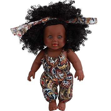 Amazon Com 2018 Newest Black Girl Dolls Lifelike 12 Inch Baby Play