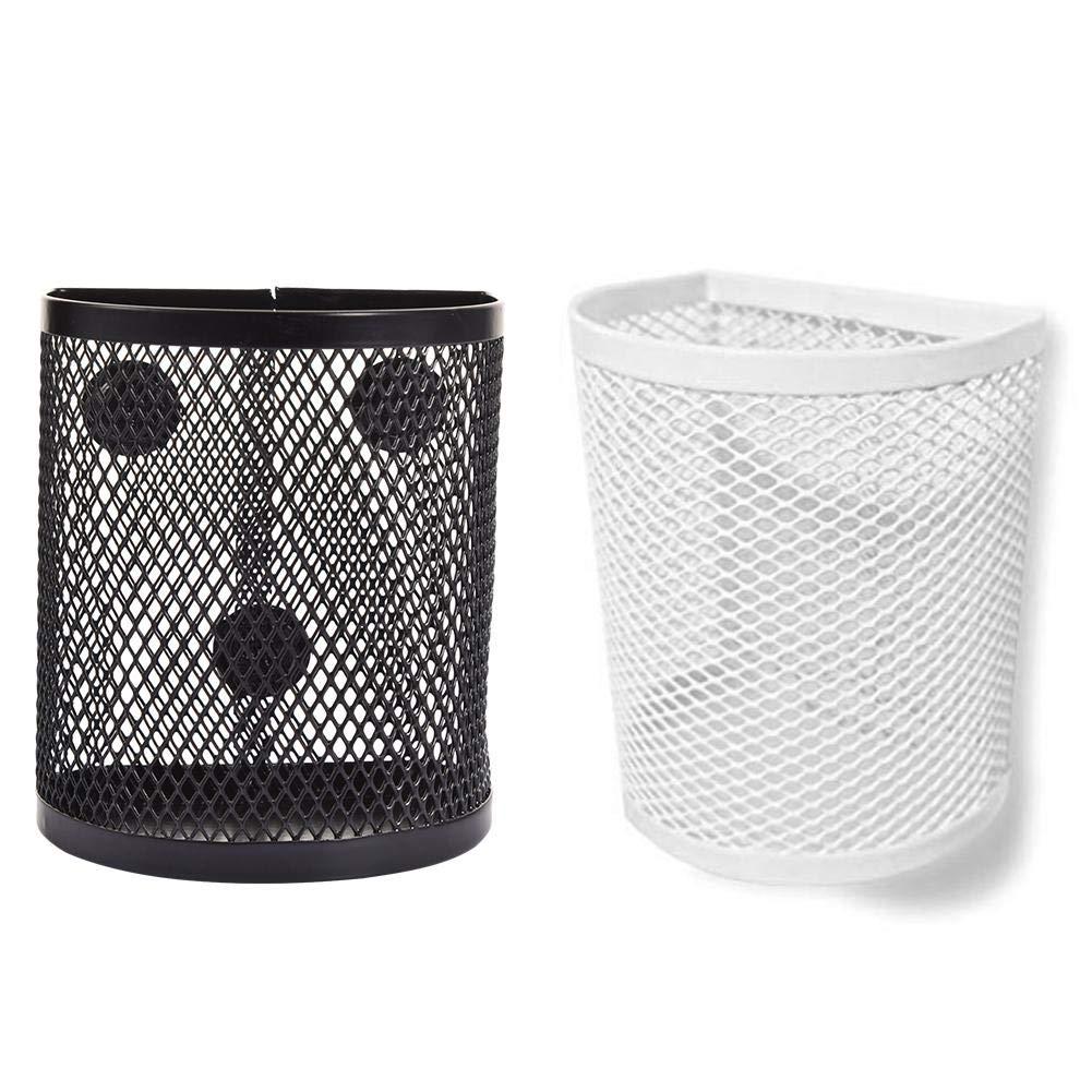 accessori magnetici per cestini Wei/ß A Portapenne magnetico semicircolare scomparti adatto per lavagne frigorifero