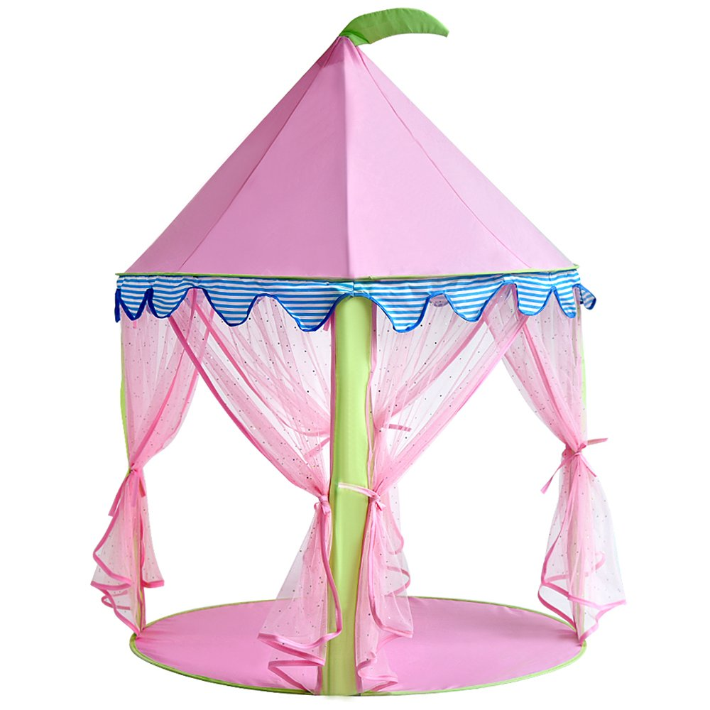 princess castle tent sonyabecca tent for girls pop up tent. Black Bedroom Furniture Sets. Home Design Ideas