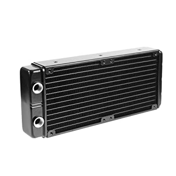 YouN 24 tubos G1/4 rosca agua refrigeración radiador doble agua disipación de calor