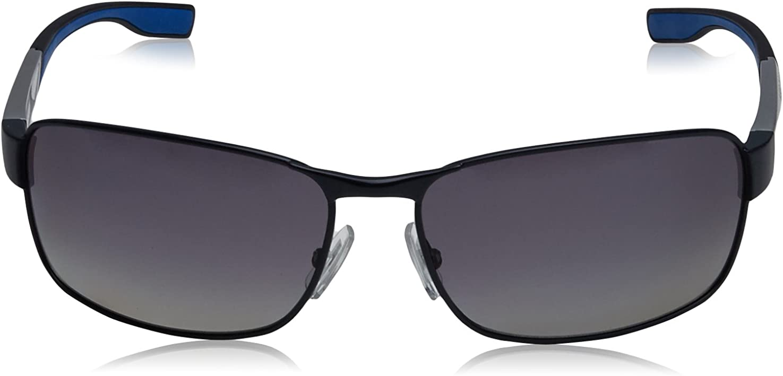 Hugo Boss Sunglasses 0569//P//S 2HT WJ Dark Ruthenium  Grey Gradient Polarized