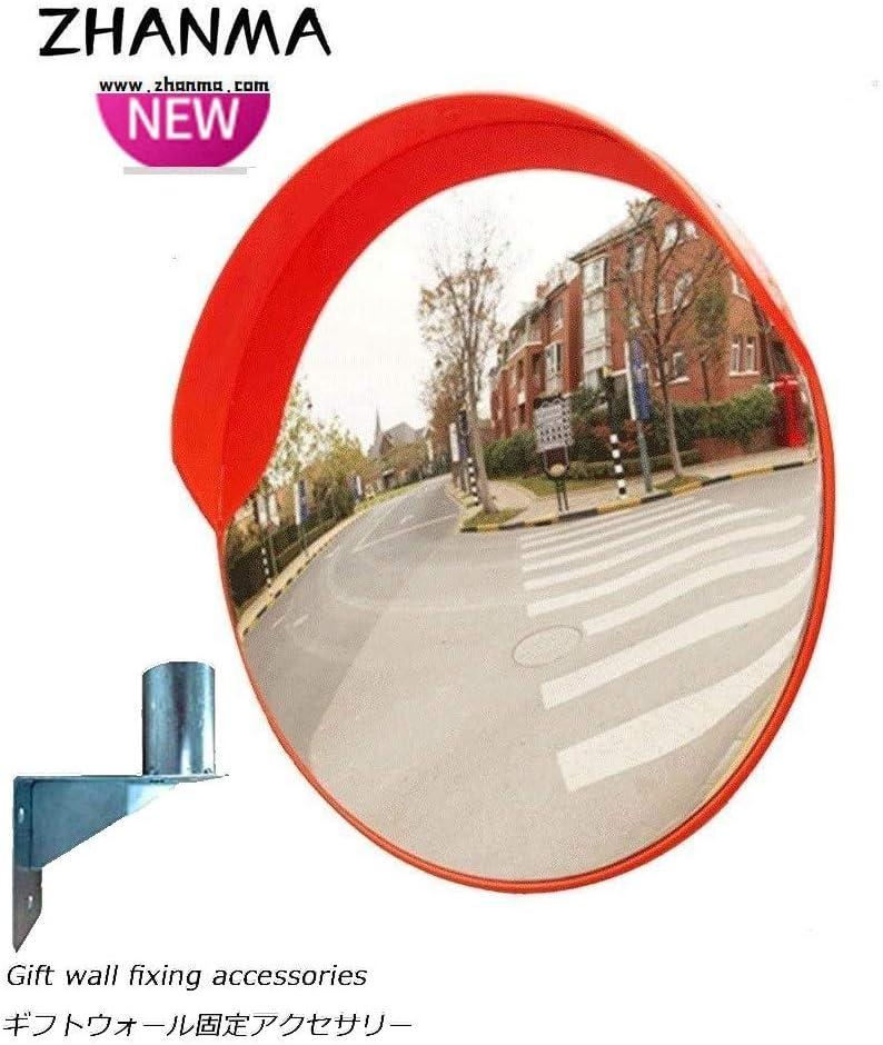 カーブミラー 交通安全凸PCミラー屋外道路ドライブウェイラウンド安全ミラー30センチメートル45センチメートル60センチメートル75センチメートル80センチメートル100センチメートル RGJ1-18 (Size : 100cm)