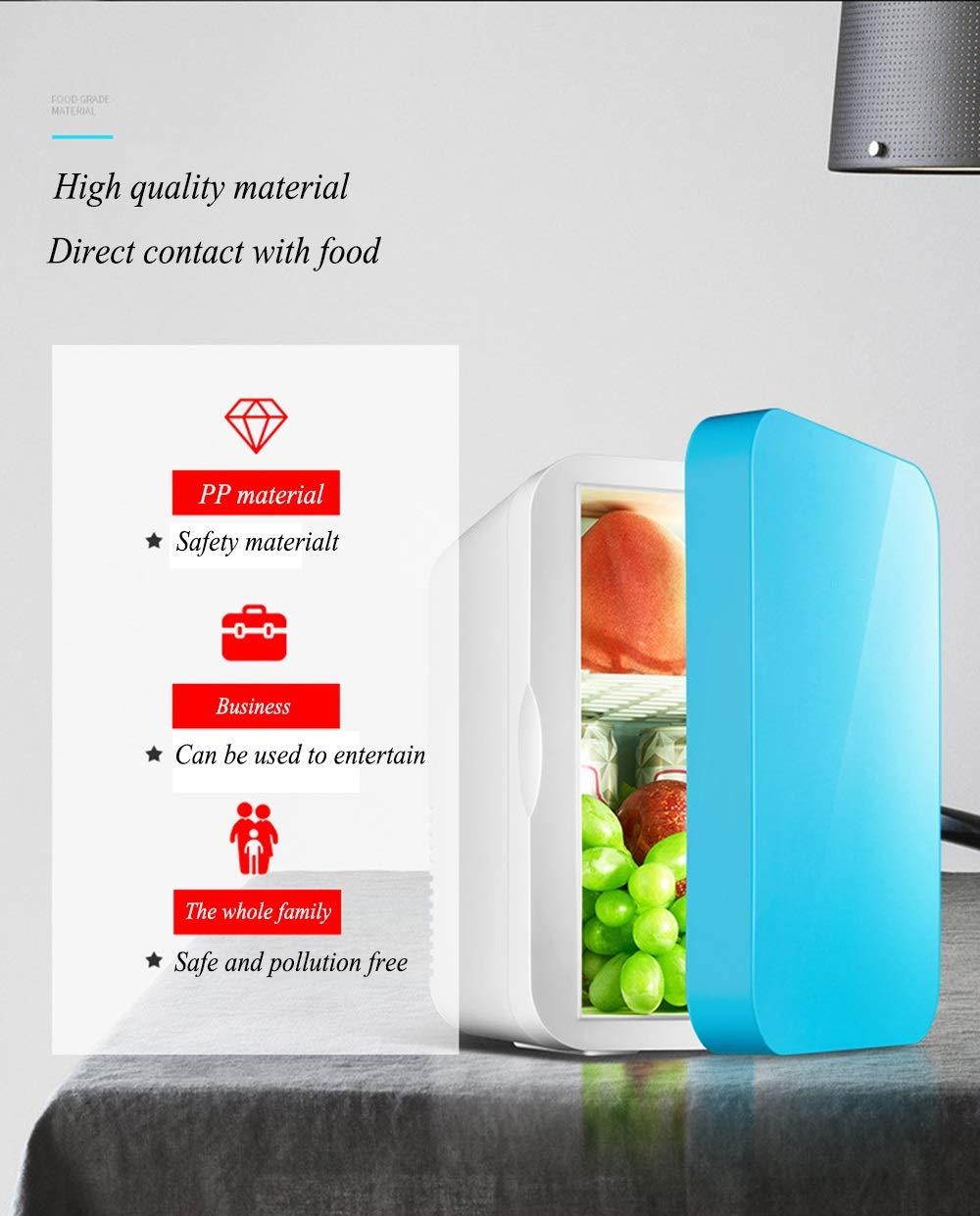 Pequeño frigorífico WWFF 6L. Mini nevera de coche Refrigeración de ...