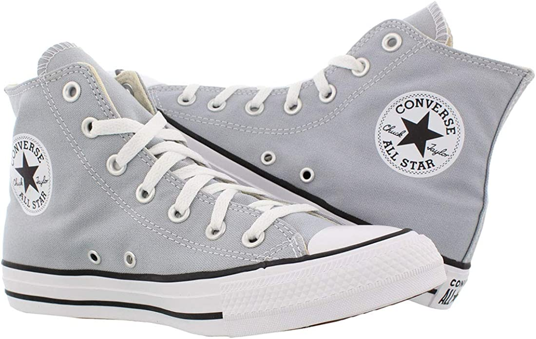 Converse Chuck Taylor All Star Core Hi, Sneakers Basses Mixte Grigio Lupo