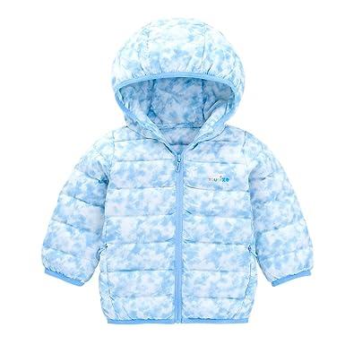 YOUQI Baby Girls Clothes Kids Boys Light Down Coat Winter Jacket Outerwear  Snowsuit (3- 0d2193b80