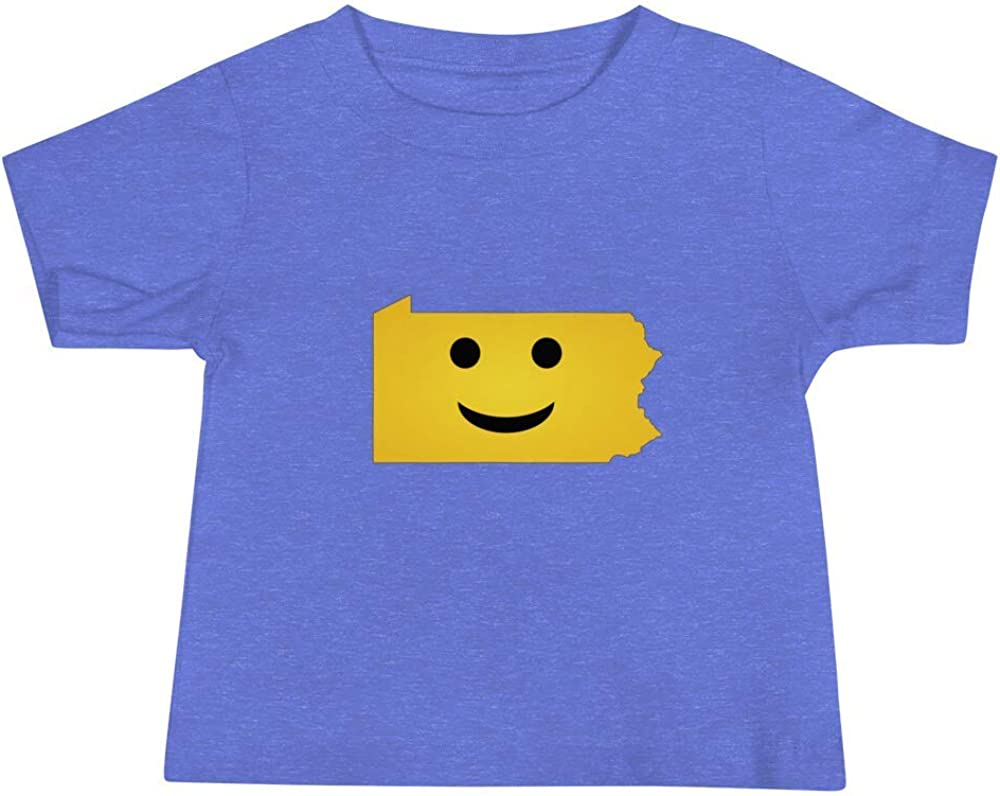 Pennsylvania Emoji Baby Short Sleeve Tee T-Shirt