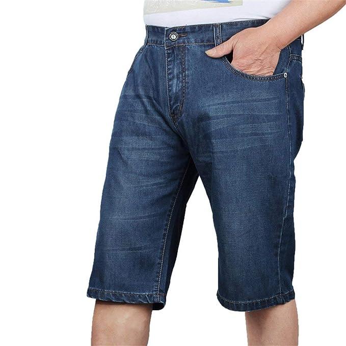 Pantalones Vaqueros De Pantalones Cortos Los Hombres De Los ...