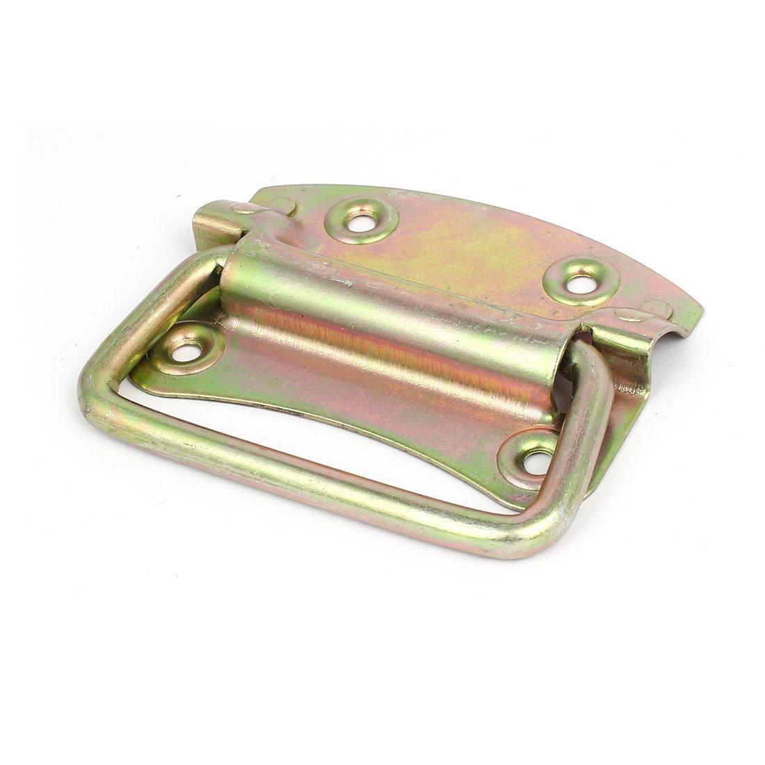 eDealMax caso de madera de la caja de herramientas del cajón de 104 mm de largo metal galvanizado anillo de tirón apretón de la manija - - Amazon.com