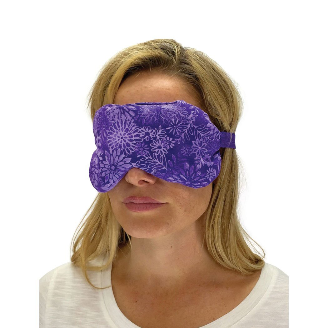 Nature Creation Lavender Eye Mask - Sleep Mask (Purple Flower)