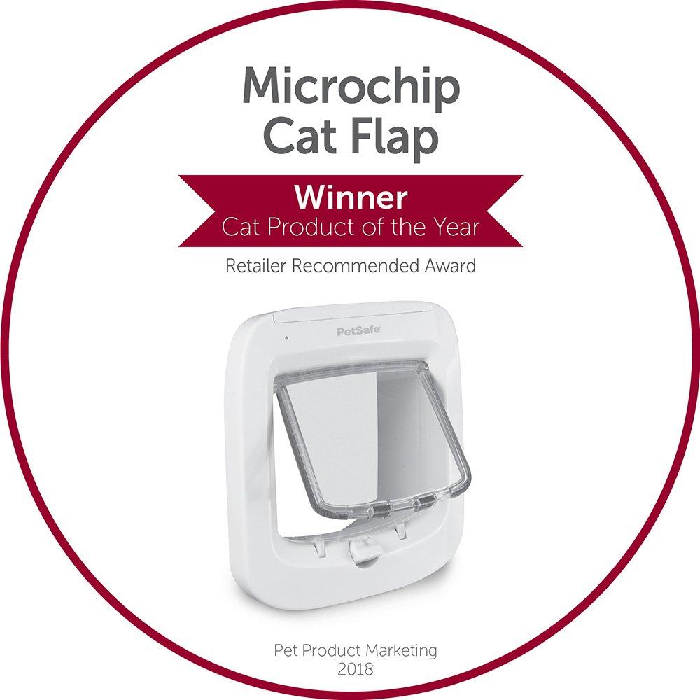 Petsafe Microchip Cat Flap Installation Adaptor Easy Install Glass