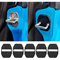 BulbForst Door Hinge Covers for Jeep Wrangler JK /& Unlimited JKU 2007-2018 Door Lock Protection Accessories