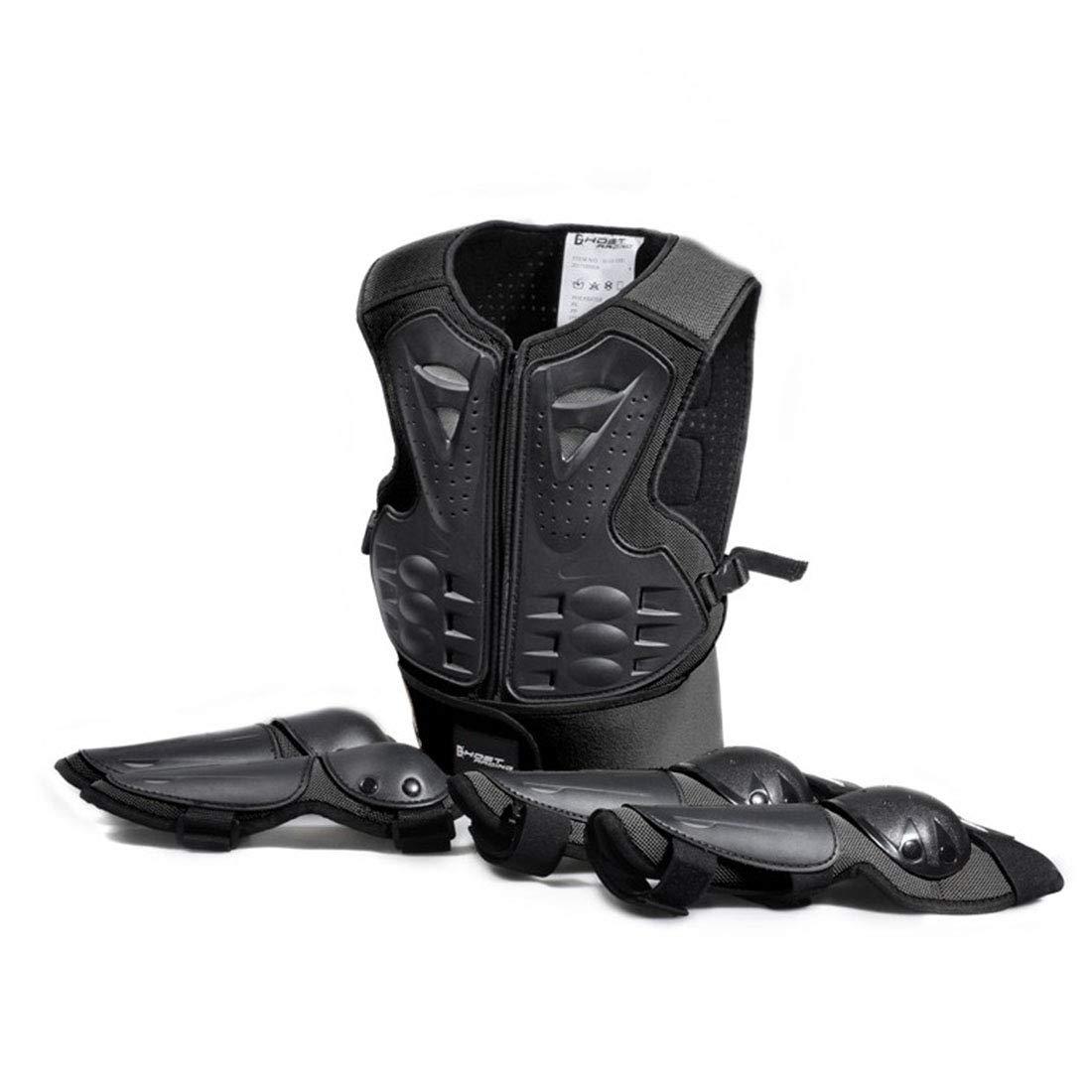 品質は非常に良い 方朝日スポーツ用品店 黒 Dirtbikeバイク用の鎧保護カバーモトクロススキースノーボードスポーツジャケットオートバイレーシングボディプロテクティブ (色 : 黒) 黒 黒) B07QX3V41P B07QX3V41P, 大滝村:dd72716f --- adornedu.com