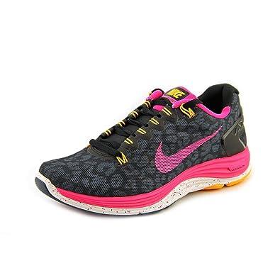 Nike Lunarglide 5 Print Ext Mujer Negro Deportivas Zapatos Nuevo: Amazon.es: Zapatos y complementos
