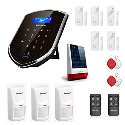 Wolf Guard WM3GR-N Smart Home Alarm System,3G/gsm/WiFi Auto ...