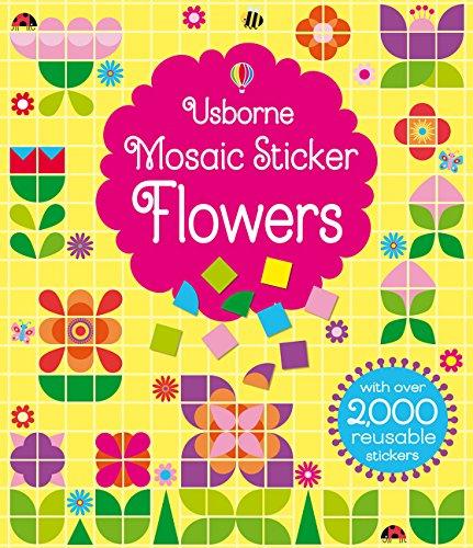- Mosaic Sticker Flowers
