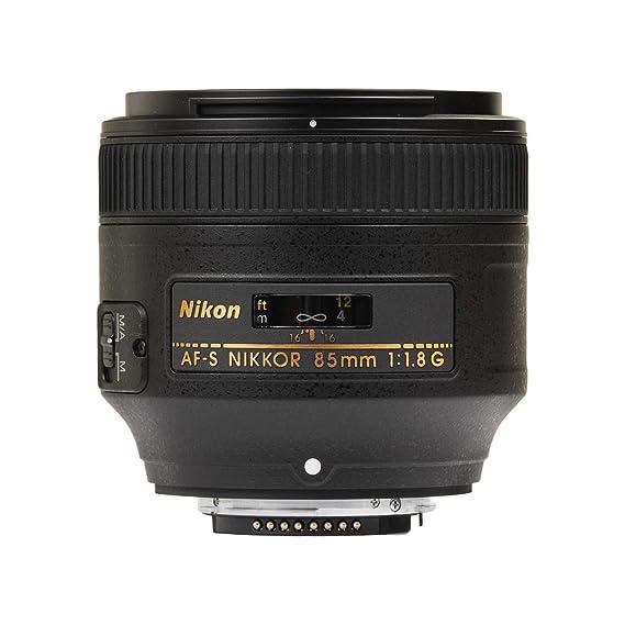 Nikon AF S 85mm F/1.8G Prime Lens for Nikon DSLR Camera Camera Lenses