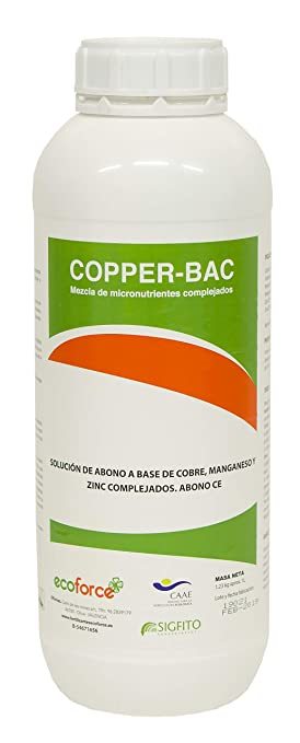 CULTIVERS Copper-Bac. Incrementa Las defensas de los ...