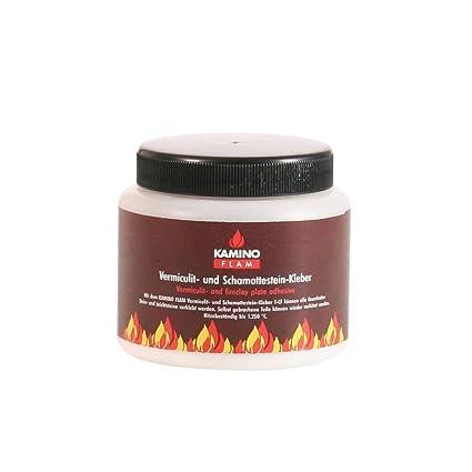 Kamino-Flam 333324 schamottk hígado resistente al calor de alta temperatura – pegamento para madera