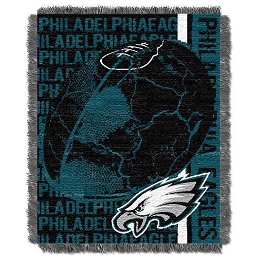 Eagles OFFICIAL National Football League, Double Play 46 x 60 Triple Woven Jacquard ()