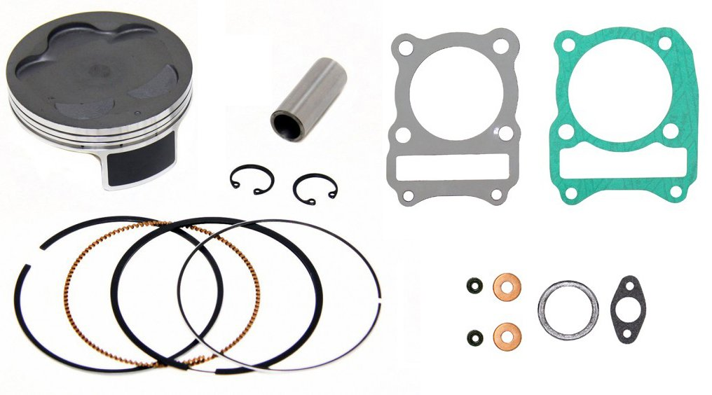 Outlaw Racing Piston Gasket Top End Rebuild Kit 65.97MM ARCTIC CAT 250 2X4 1999-2005 by Outlaw Racing Products (Image #1)
