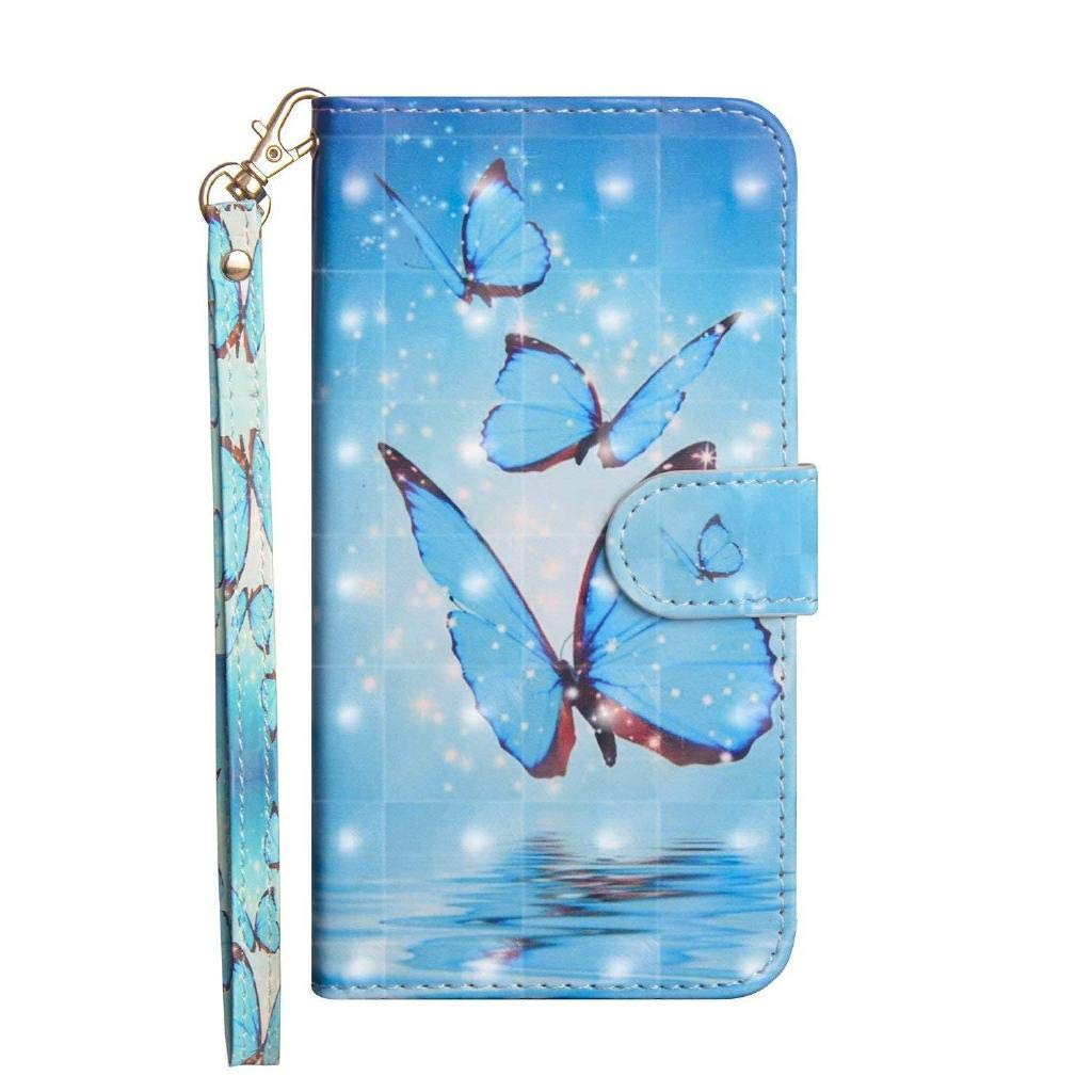 Huawei P30 Lite Case,Shockproof PU Leather Flip Cover Notebook Wallet Case with Magnetic Closure Stand Card Holder ID Slot Folio Soft TPU Bumper Protective Skin,Black Lace