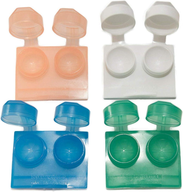 Caja de compra de lentes de contacto con tapa plegable de ...
