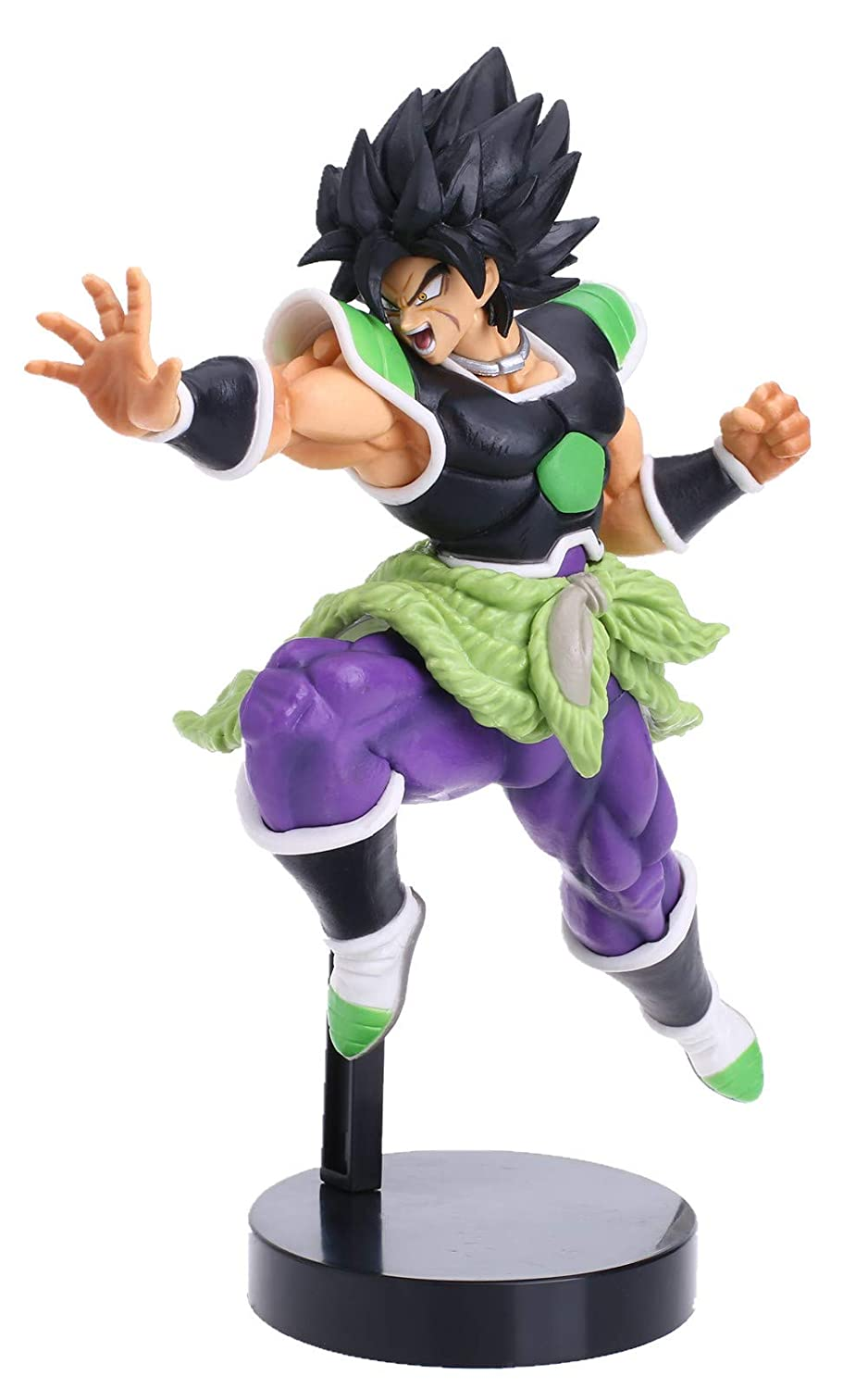 Amazon KELAKE Dragon Ball Z Actions Figures DBZ Super Saiyan Broly Action Figure Statue Figurine Model Doll Collection Birthday Gifts PVC 9 With Out