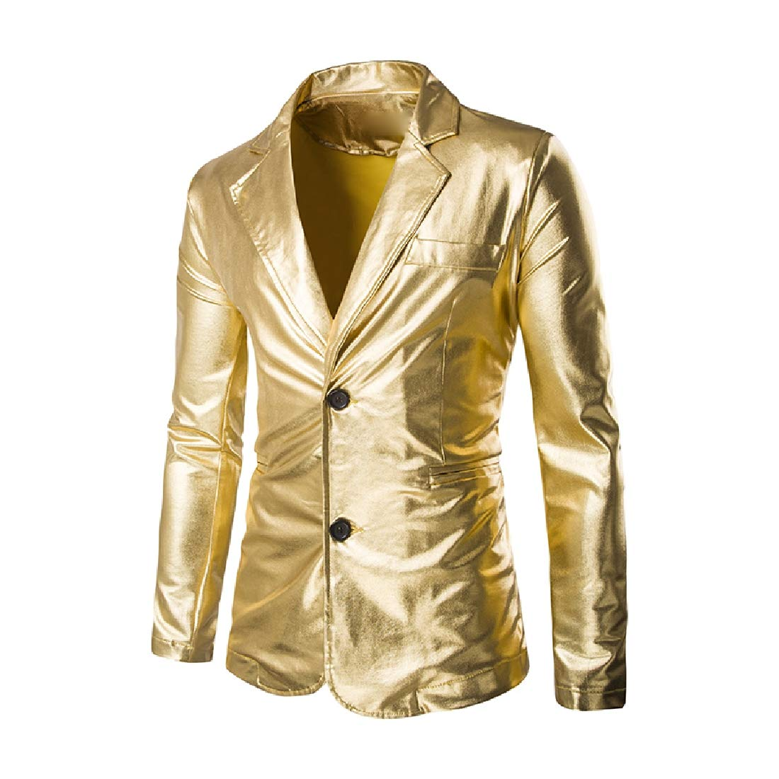 Againg Mens Blazer Set Business Wedding Party Suit Jacket and Pants