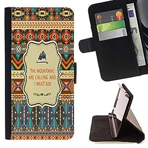 Dragon Case - FOR Samsung Galaxy S5 V SM-G900 - I must go - Caja de la carpeta del caso en folio de cuero del tir¨®n de la cubierta protectora Shell