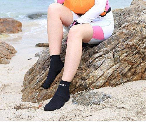 Kompaktes Neoprenanzug Tauchen Socke für Schnorcheln, Tauchen Segeln, Bodyboard, Flossen, Kanu, Kajak