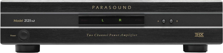 Parasound 2125v2 150 Watt Stereo Power Amplifier