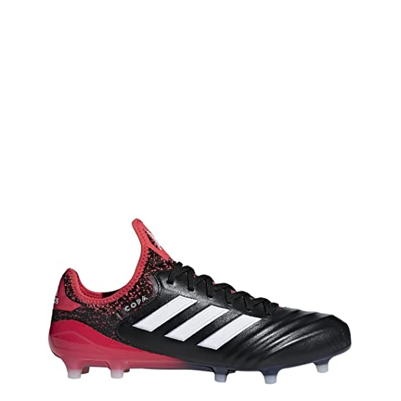 52b106780fe Image Unavailable. Image not available for. Colour  adidas Copa 18.1 FG  Cleat Men s Soccer 11.5 Core Black-White-Real Coral