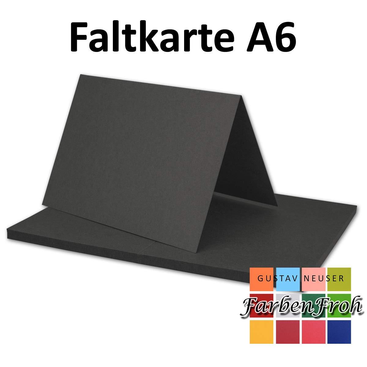 150x 150x 150x Falt-Karten DIN A6 Blanko Doppel-Karten in Vanille -10,5 x 14,8 cm   Premium Qualität   FarbenFroh® B07KHYZW6M | Attraktiv Und Langlebig  74e0be