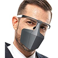 Mainstayae Plastic Protective Against Droplets fog Isolation Face Breathable Reusable Protective Cover Isolation Shield