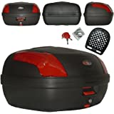 A-Pro Top Case Box 46LT Quick rlease universel moto scooter Luggage