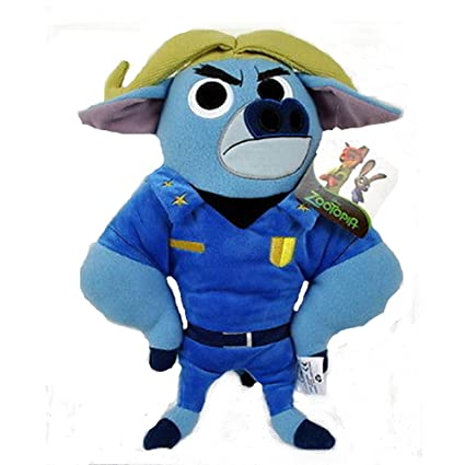 "Disney Zootopia Chief Bogo 15"" Pillow Plush"