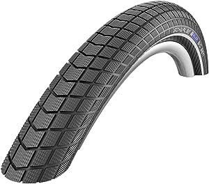SCHWALBE Big Ben HS 439 Performance Cruiser Bicycle Tire - Wire Bead - Black-Reflex - 20 x 2.15