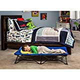Baby : Regalo My Cot Blue Portable Folding Travel Bed with Travel Bag Perfect for Sleepovers, Camping, the Beach, etc.